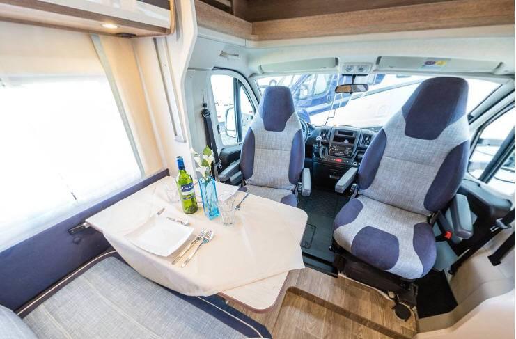 Dethleffs Trend T 6717 - Interior