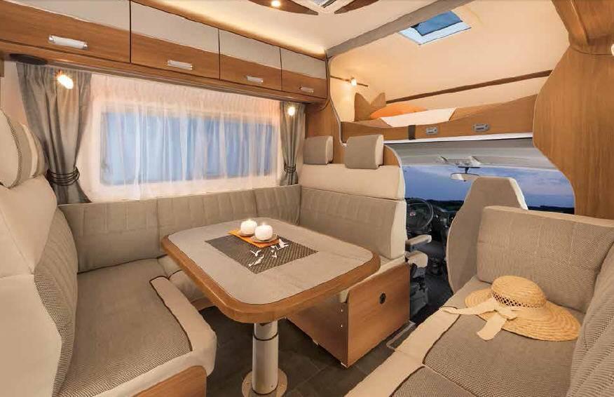 Dethleffs Espri A Comfort A 6820-2 - Interior