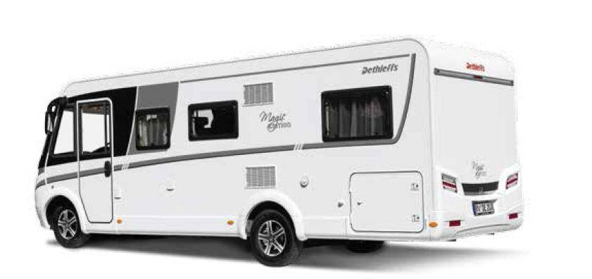 Dethleffs Magic Edition I I White - Exterior
