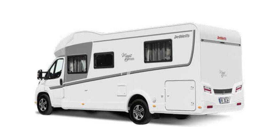 Dethleffs Magic Edition Globe 4T 7151 T White - Exterior