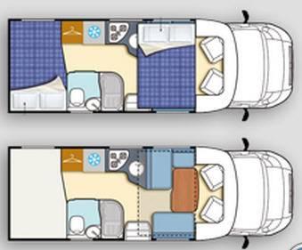 Elnagh T-Loft 450G - Plano - Distribución