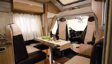 Elnagh T-Loft 450G - Interior