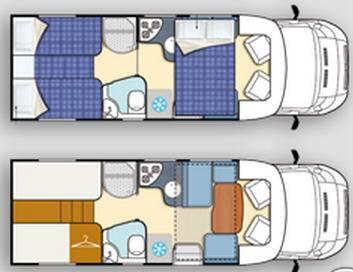 Elnagh T-Loft 530 - Plano - Distribución