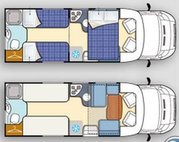 Elnagh T-Loft 531 - Plano - Distribución
