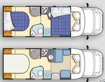 Elnagh T-Loft 580 - Plano - Distribución