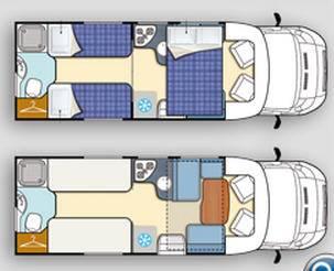 Elnagh T-LOFT T-LOFT 531 ** - Plano - Distribución