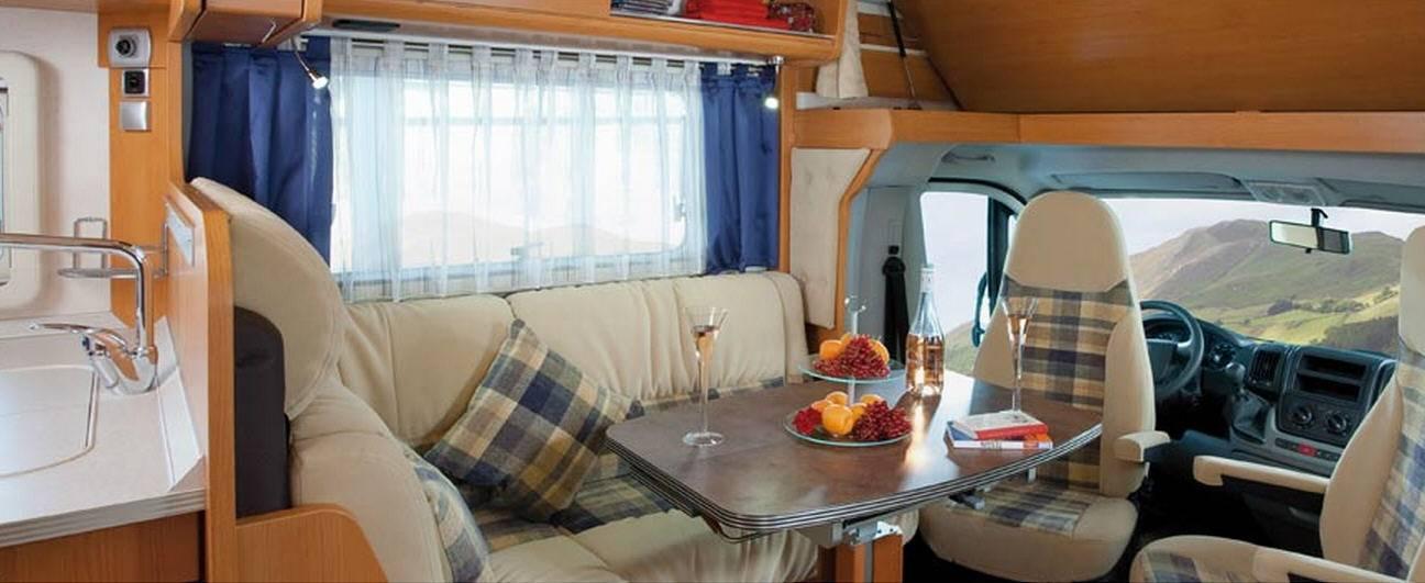 Frankia FIAT DUCATO A 640 - Interior