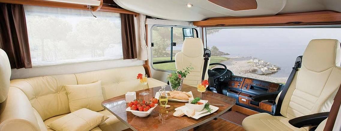 Frankia FIAT DUCATO A 740 - Interior