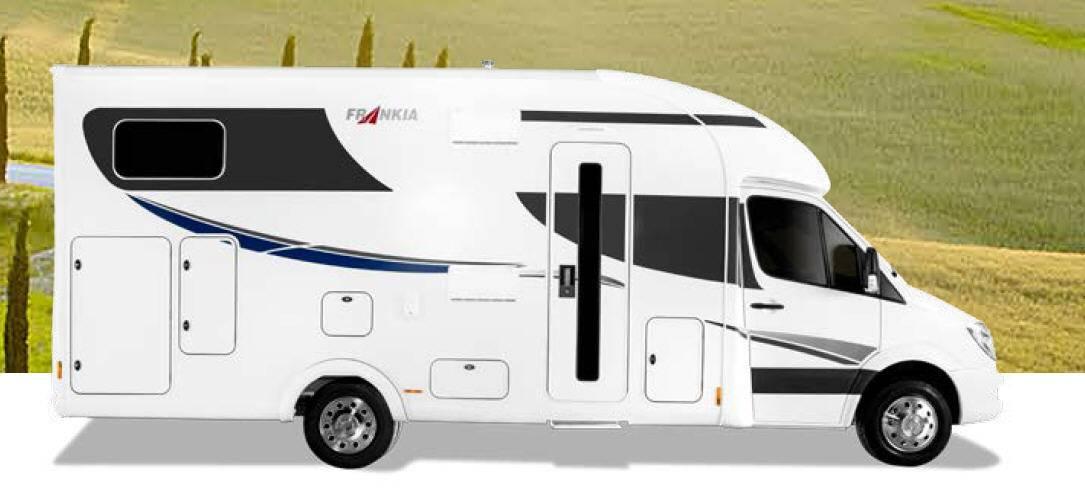 Frankia Mercedes Srpinter T 7400GD/QD/FD - Exterior