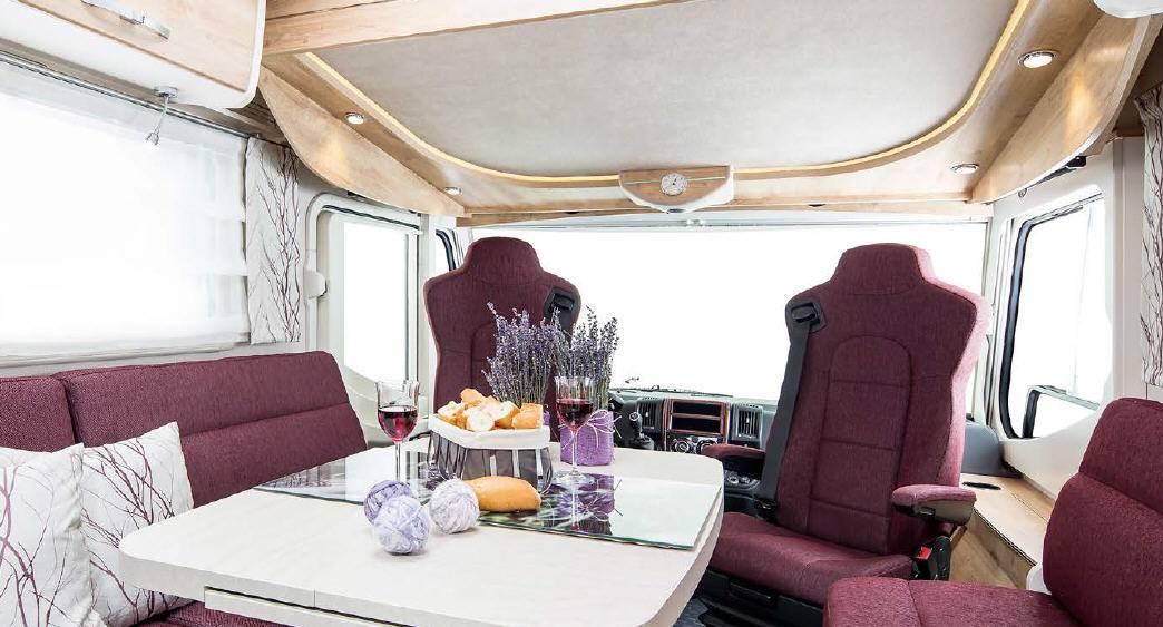 Frankia Mercedes Srpinter I 6400 SD - Interior