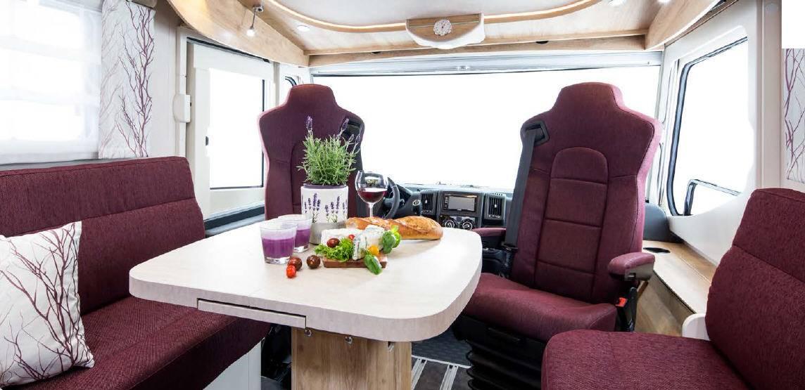 Frankia Mercedes Srpinter I7400 BD/GD/QD/Plus/ED/ED-G/FD - Interior