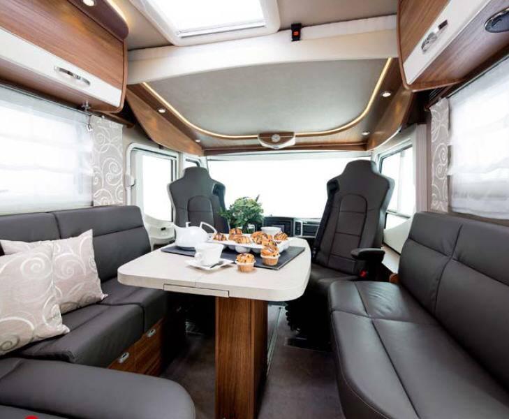 Frankia Mercedes Srpinter I8400 BD/GD/QD/FD - Interior