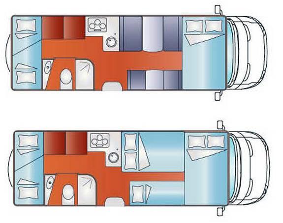 Giottiline CAPUCHINO T 41 - Plano - Distribución