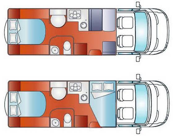 Giottiline PERFILADOS S 38 - Plano - Distribución