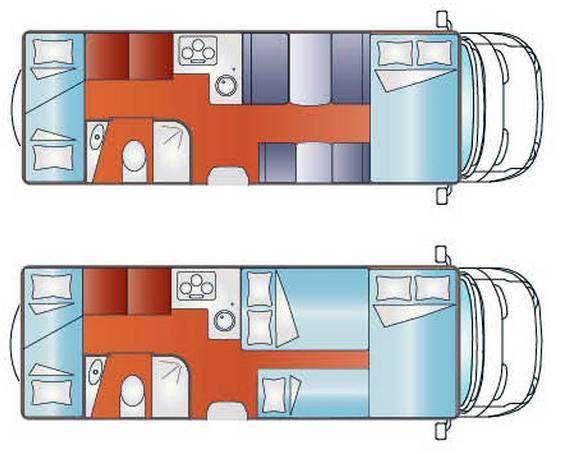 Giottiline CAPUCHINO S 41 - Plano - Distribución