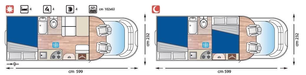 Giottiline Therry Perfilado T 31 - Plano - Distribución