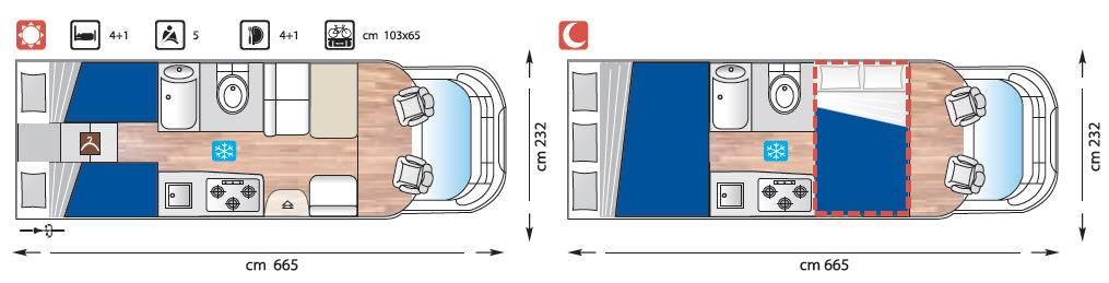 Giottiline Therry Perfilado T 32 - Plano - Distribución