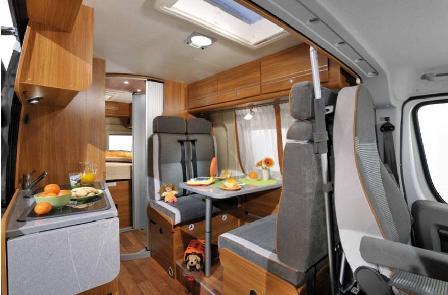 Globecar D-Line FAMILYSCOUT MAXI - Interior