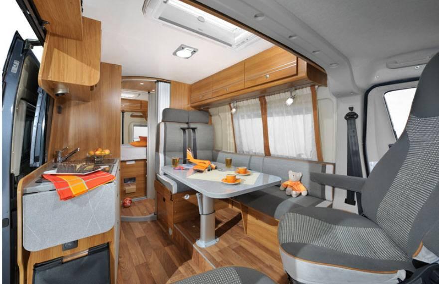 Globecar D-Line FAMILYSCOUT  L MAXI - Interior
