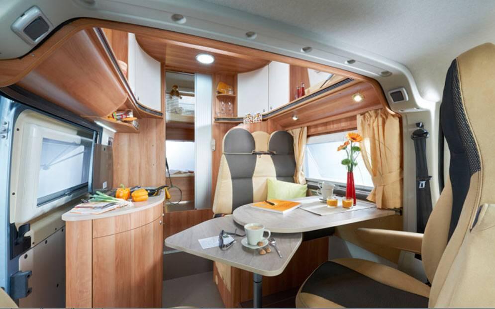 Globecar H-Line GLOBECAR VARIO 545 - Interior