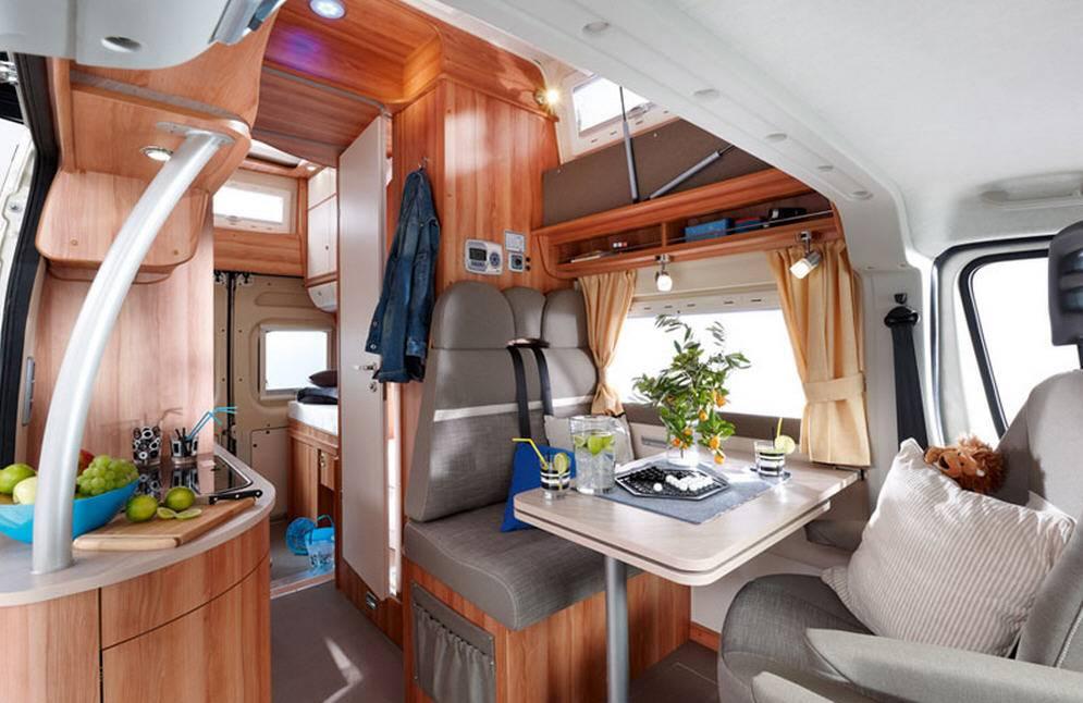 Globecar H-Line GLOBECAR VARIO - Interior