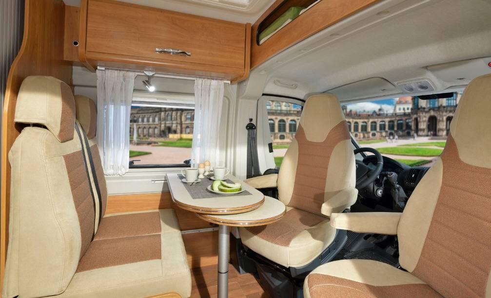 Globecar D-LINE Roadscout R - Interior