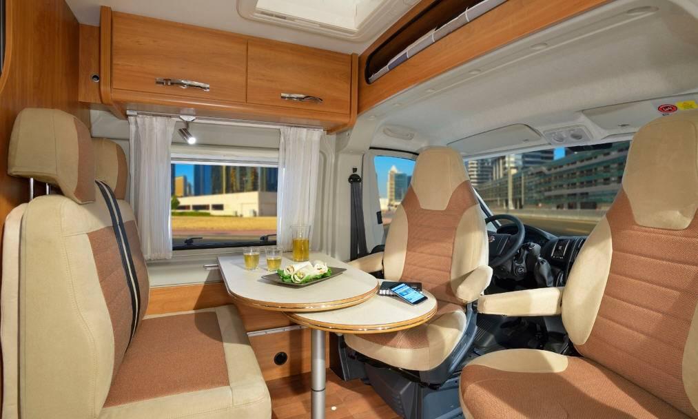 Globecar D-LINE Globestar 600 W - Interior