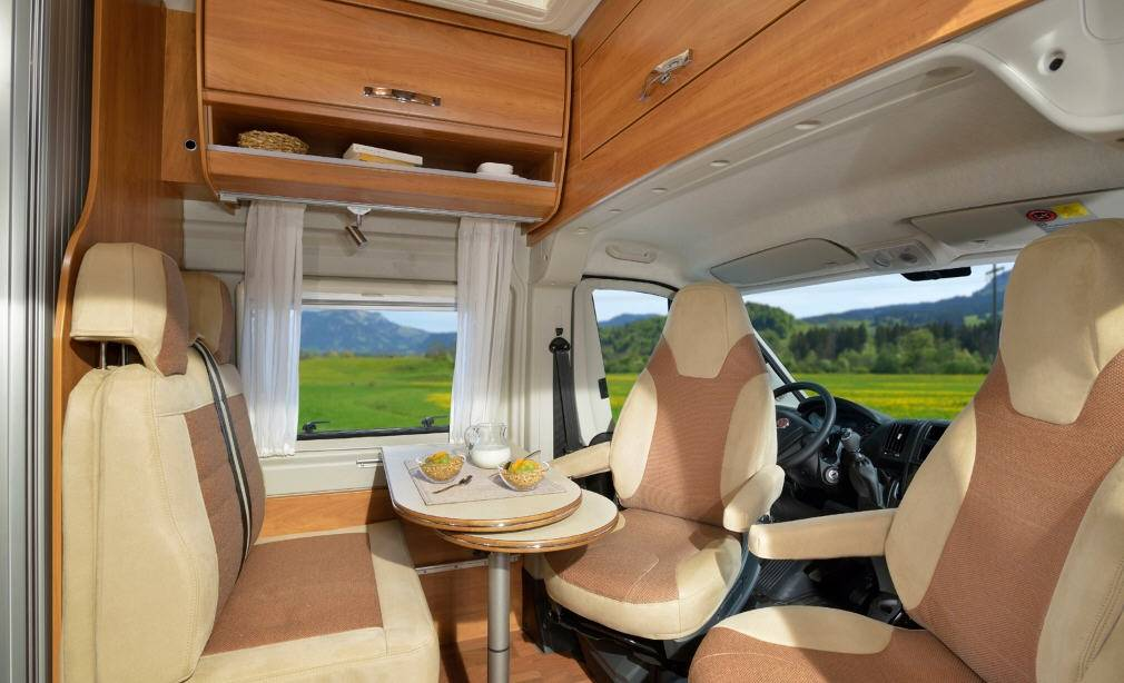 Globecar D-LINE Globestar 600 L Revolution - Interior