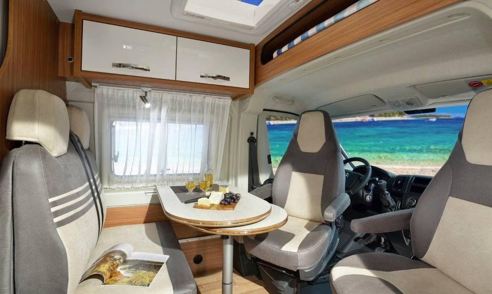 Globecar D-LINE Campscout (Heavy) - Interior