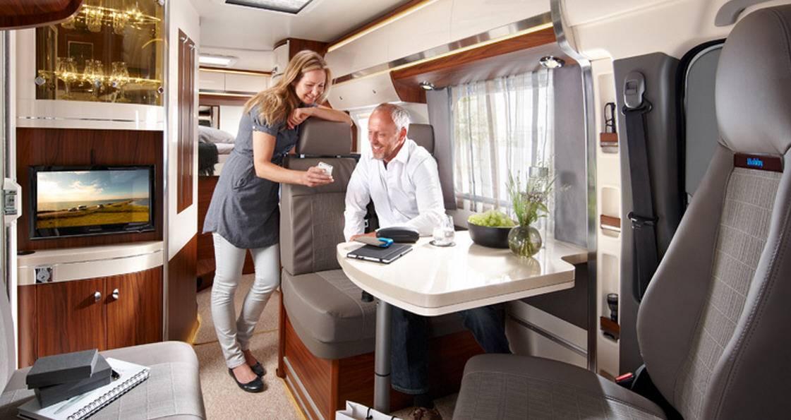 Hobby Premium Van 60 GF - Interior