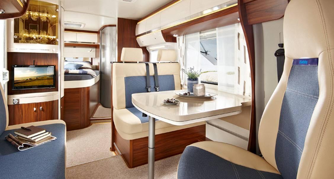 Hobby Premium Drive 65 HFL - Interior