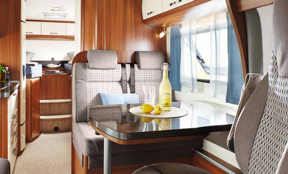 Hobby Optima Van V60GF - Interior