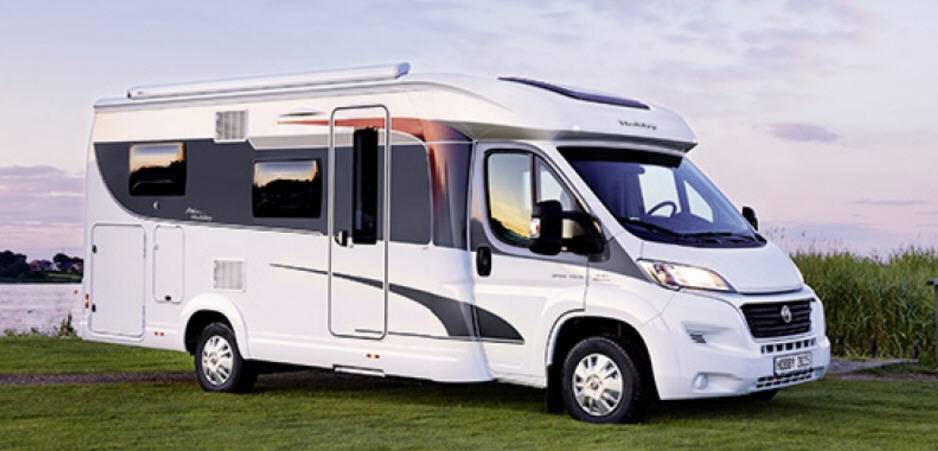 Hobby Optima Van V60GF Luxe - Exterior