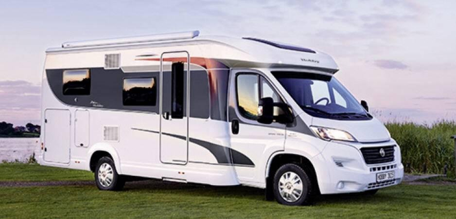 Hobby Optima Van V65GE - Exterior