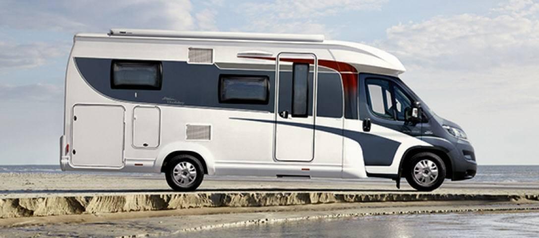 Hobby Optima T 75 HGE Luxe - Exterior