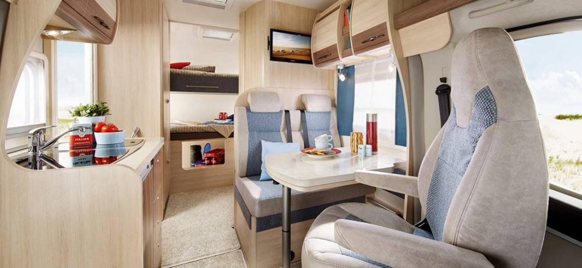 Hobby Siesta A 55 GS Luxe - Interior