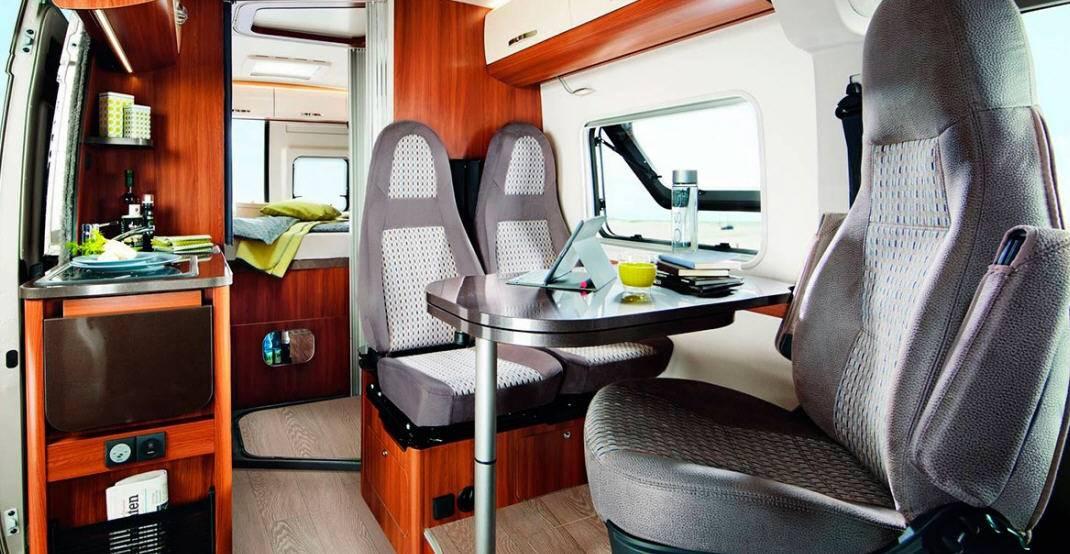 Hobby Vantana K 60 T - Interior