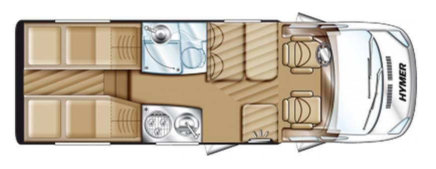 Hymer Van V 562 - Plano - Distribución
