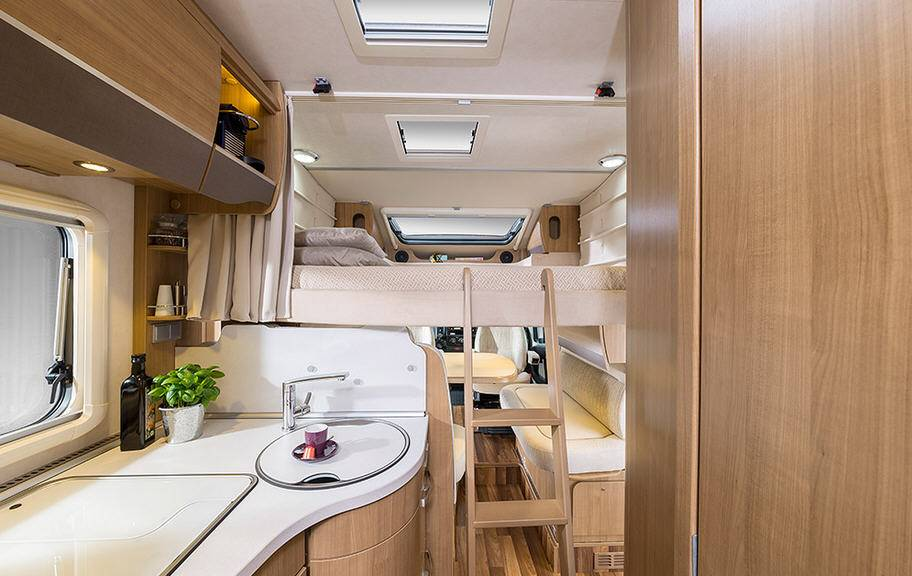 Hymer Tramp CL T 614 CL ALKO - Interior