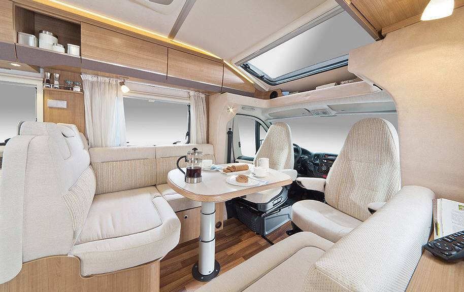 Hymer Tramp CL T 678 CL ALKO - Interior