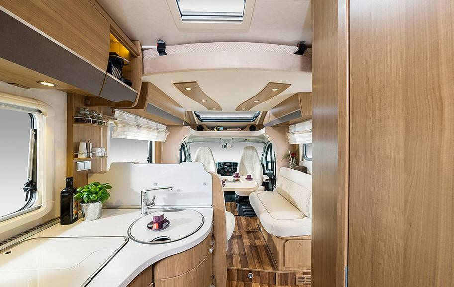 Hymer Tramp CL T 698 CL ALKO - Interior