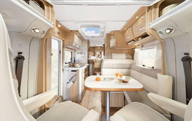 Hymer Tramp T 578 PR 50 - Interior