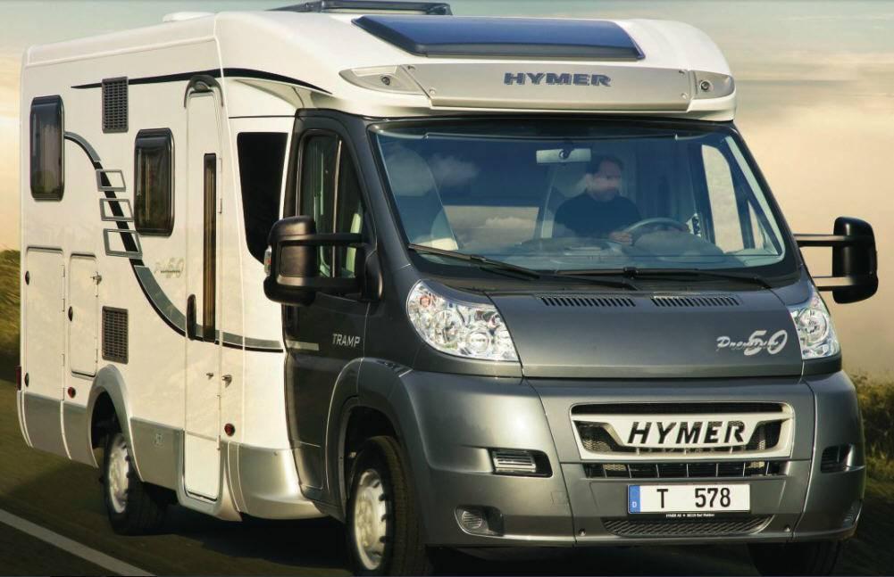 Hymer Tramp T 674 PR 50 - Exterior