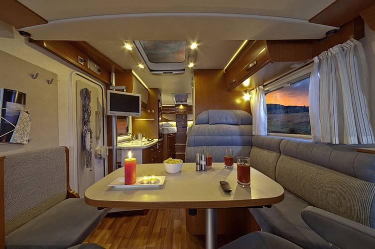 Hymer Exsis Fiat Ex 578 - Interior