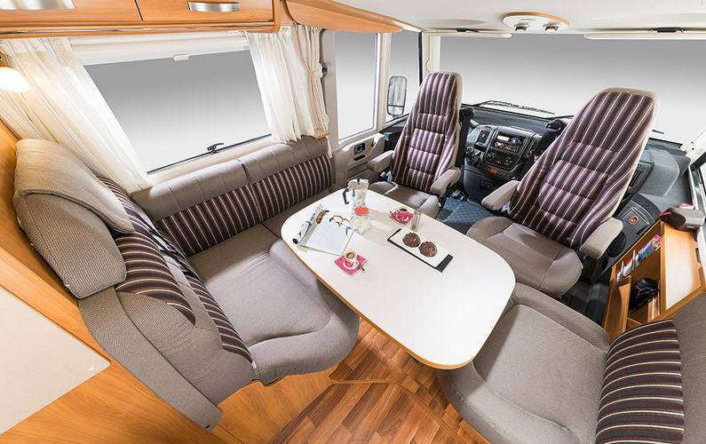 Hymer Exsis Fiat Ex 614 - Interior