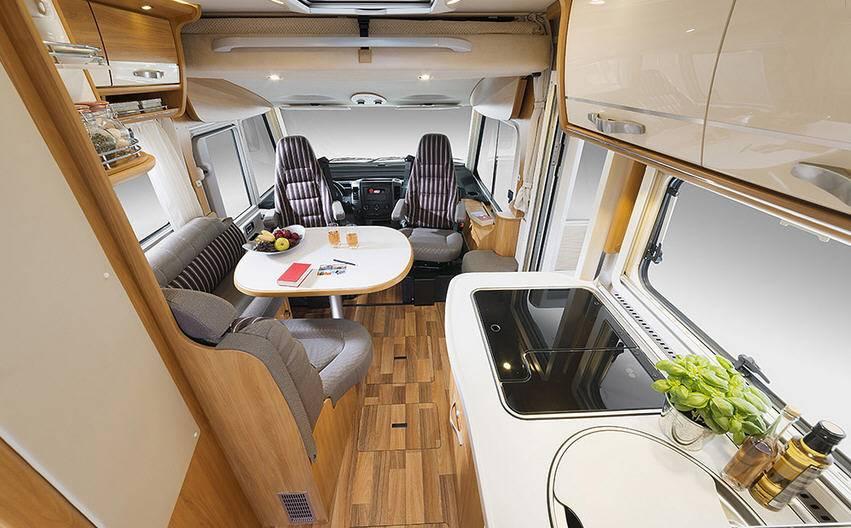 Hymer Star Line B 580 - Interior