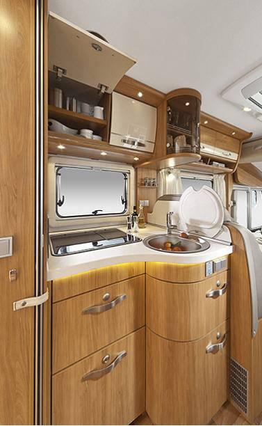 Hymer Star Line B 680 - Interior