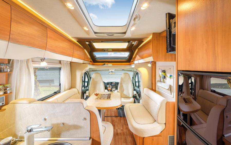 Hymer Tramp CL 668 - Interior