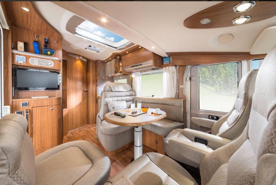 Hymer B Premium Line B544PL - Interior