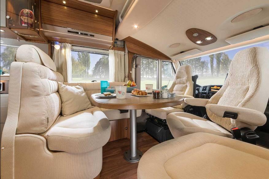 Hymer B Premium Line B568PL - Interior
